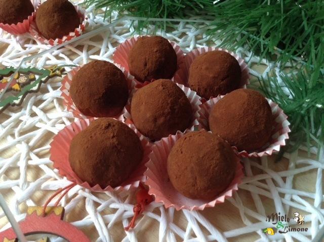 Palline di castagne al cioccolato – ricetta golosa