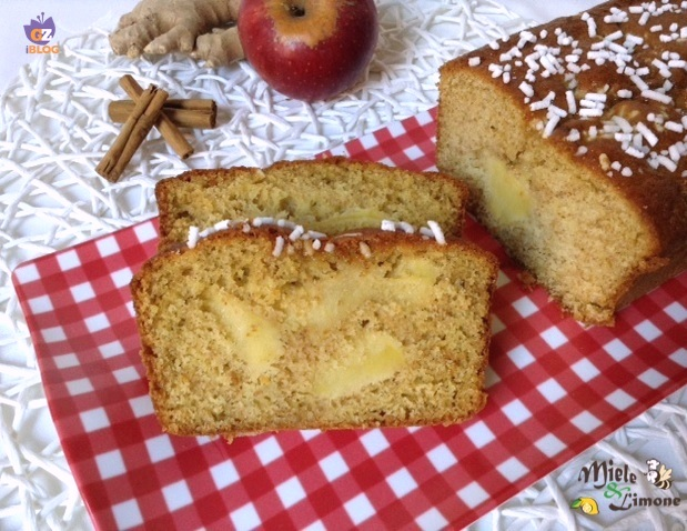 Plumcake integrale alle mele – sofficissimo senza burro