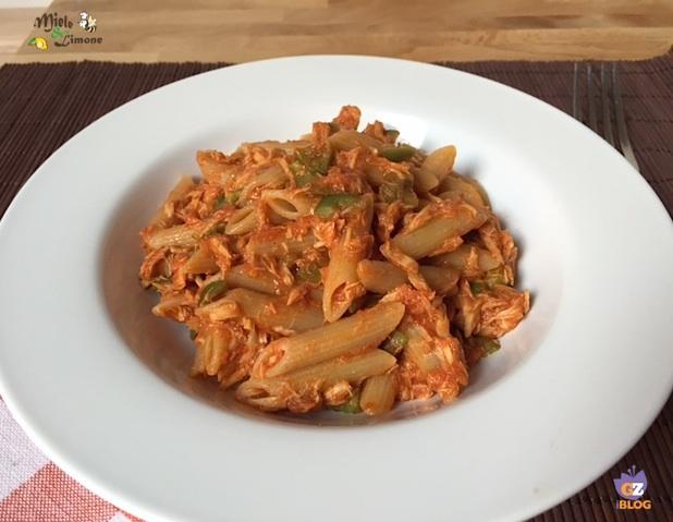 Pasta al tonno e olive – ricetta senza soffritto