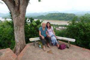 Auf dem Phou Si
