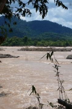 Blick auf Kambodscha
