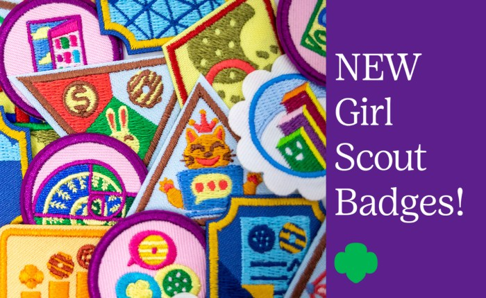 Introducing 28 new Girl Scout badges for all ages!