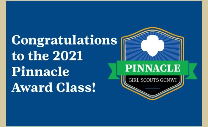 Congratulations to the 2021 Pinnacle Award Class!