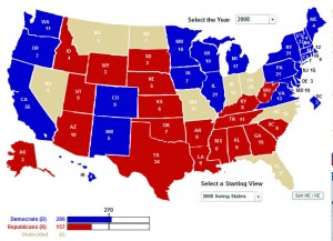 270 to win electoral map