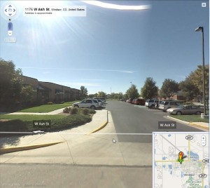new and improved google maps with more pegman
