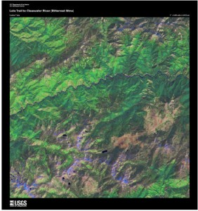 Satellite Imagery from USGS
