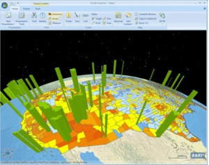 ArcGIS Explorer, free from ESRI