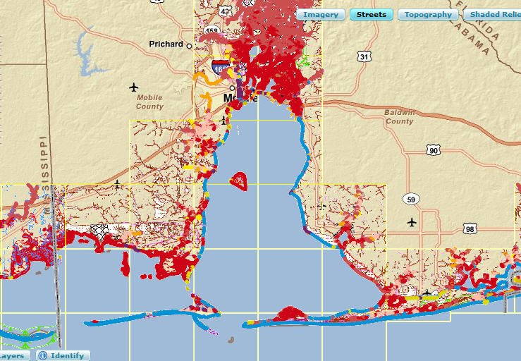 More GIS tips, WMS, maps, data, apps related to the Gulf of ...