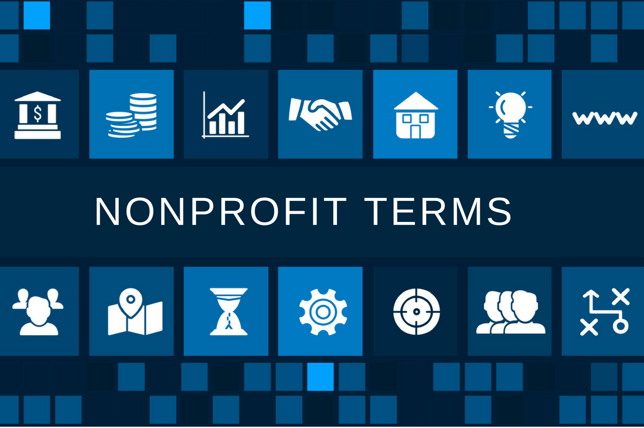 Some common nonprofit terms and what they actually mean