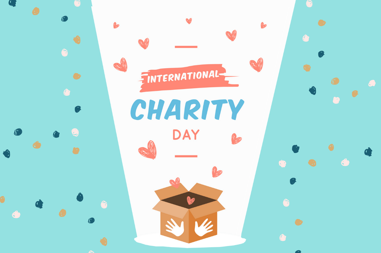 [Infographic] International Day of Charity: Giving by the numbers