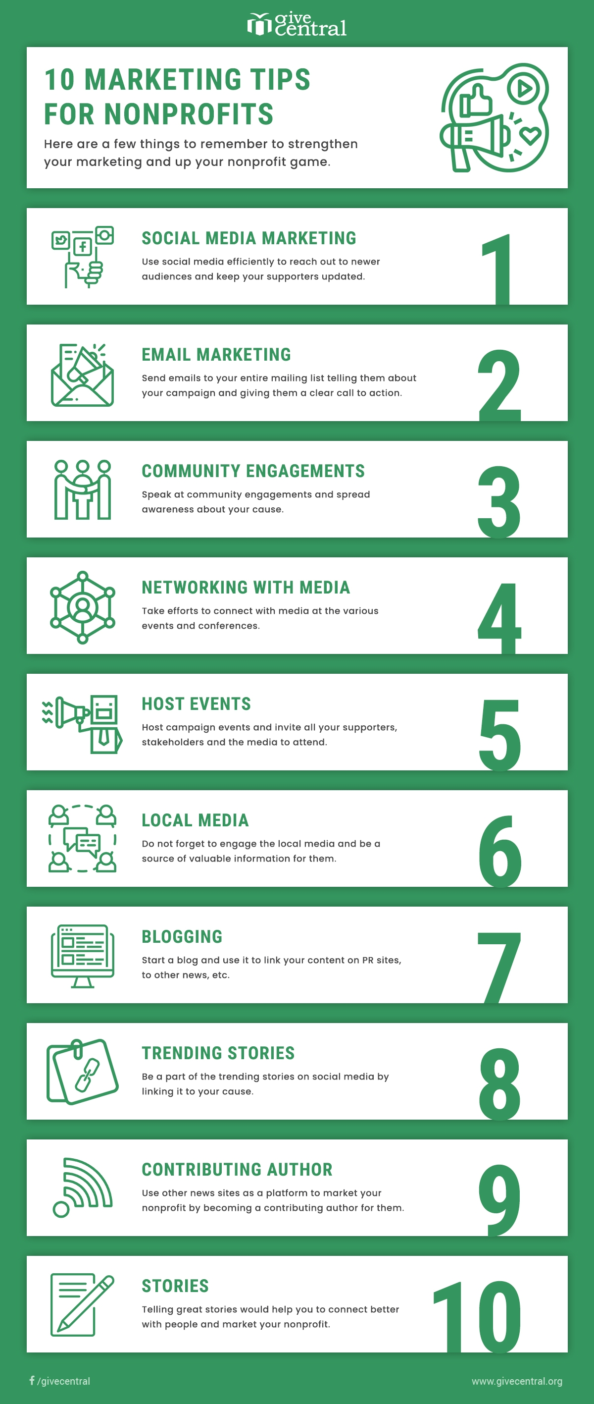 marketing tips for nonprofits