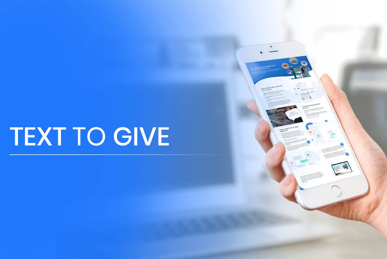 Text-to-Give for nonprofits : Why it is the greatest fundraising tool.