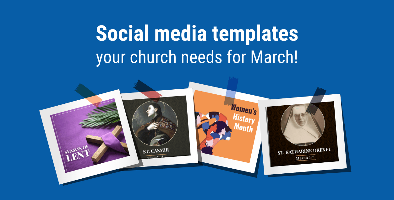 30 Social Media Templates you need in March