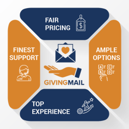 GivingMail is a top provider for church fundraising letters.