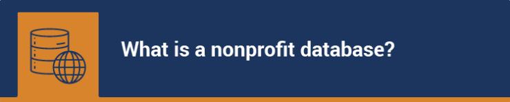 What is a nonprofit database?