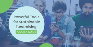 This is the feature image for this article about powerful tools for fundraising.
