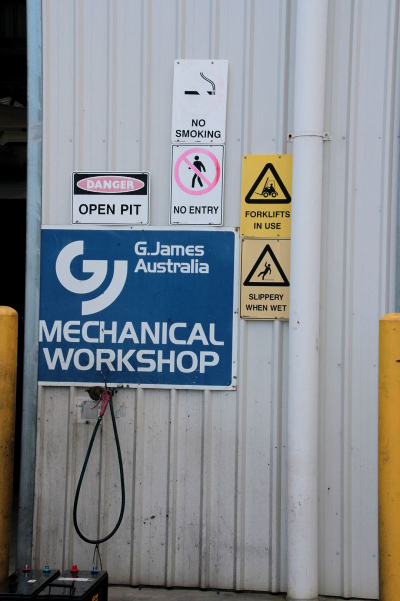 G.James Glass and Aluminium - Mechanical Department