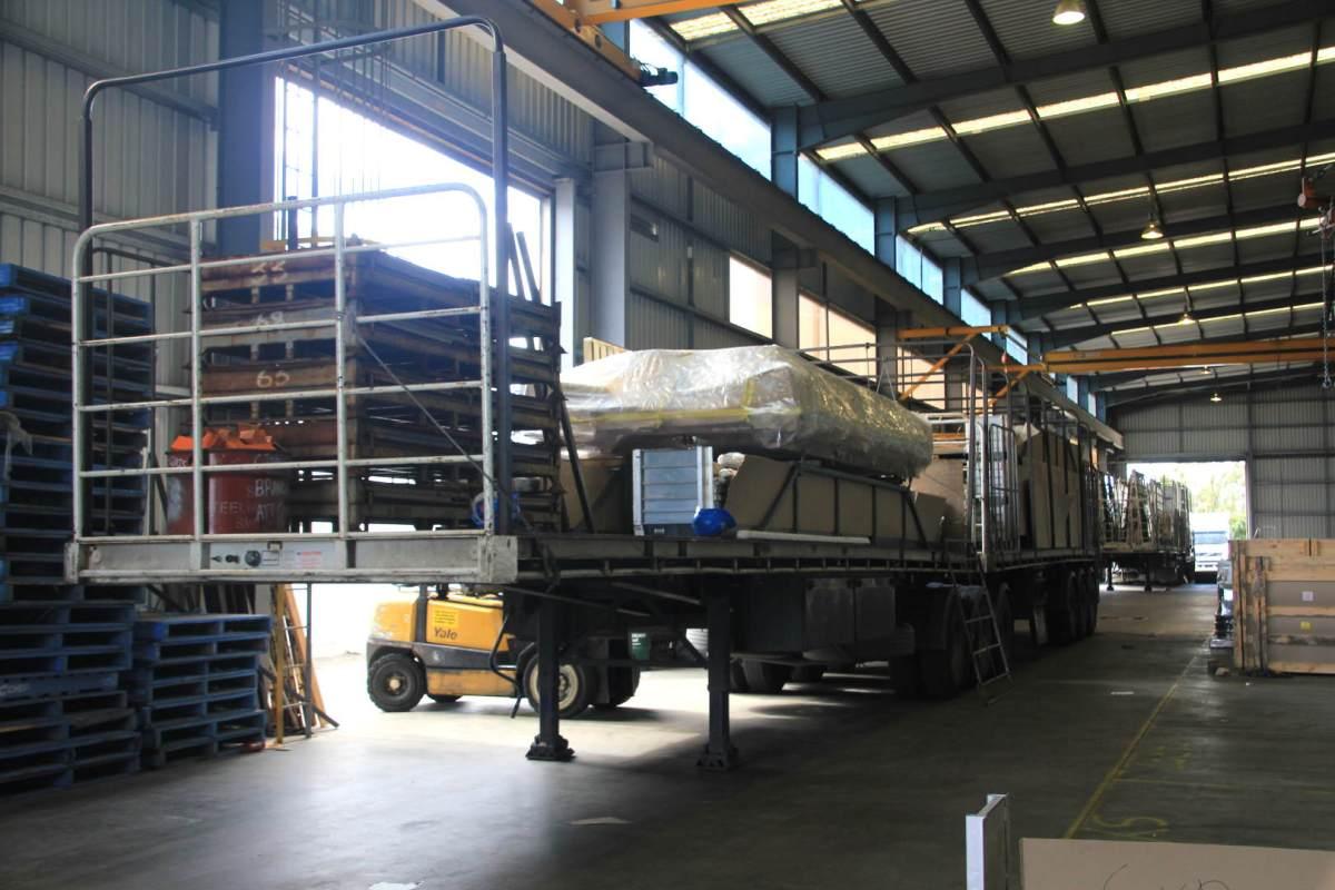 G.James Glass and Aluminium - Transport Division