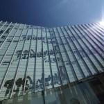Digitally printed glass facade