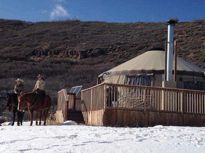 Glamping Adventures in Utah at Blue Sky Ranch