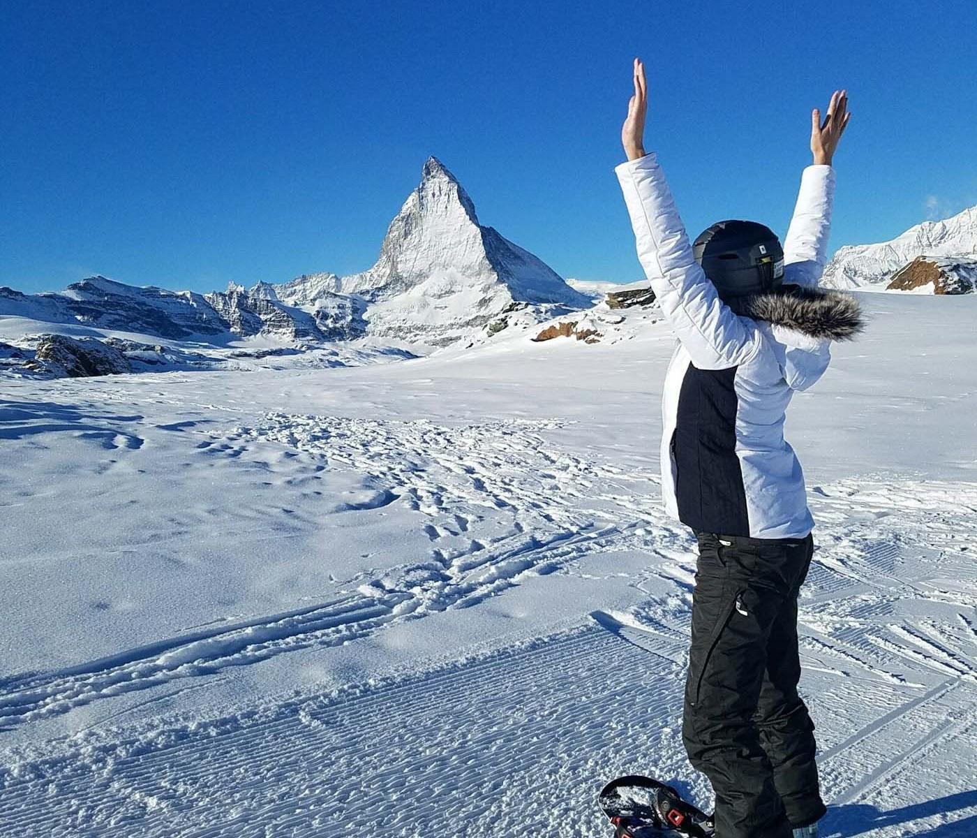 Glamping Blog News 8 Winter Activities Snowboarding Main by Lacy - Kristen Kellogg