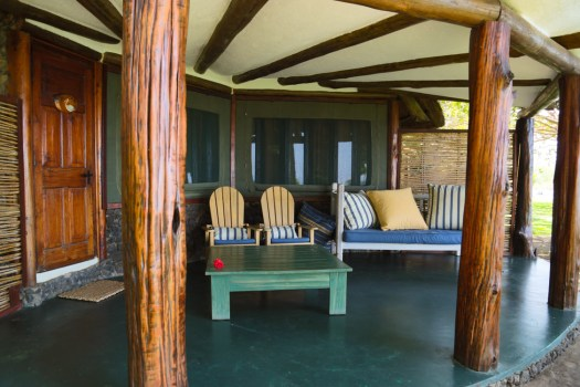 Glamping Review of Rusinga Island Lodge in Kenya by Megan Snedden - lodge lounge