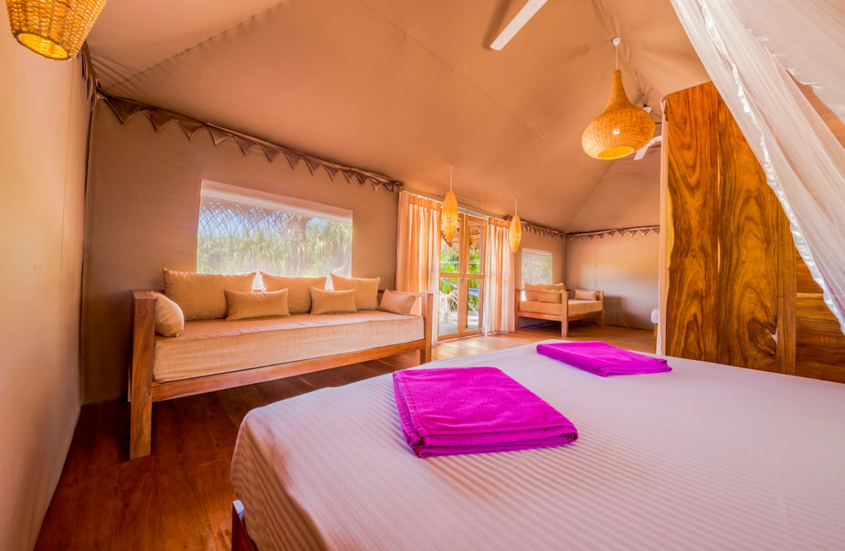 Glamping in Sri Lanka at Jungle Beach Camp