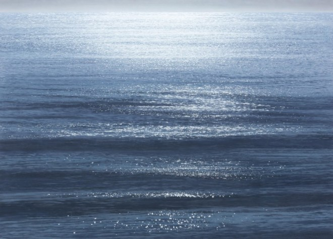 Hein, Labradorsee IV, 2015, Acryl auf Baumwolle, 130 x 180 cm