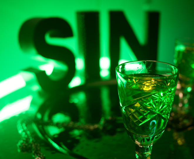 SIN GREEN ABSINTHE SHOT