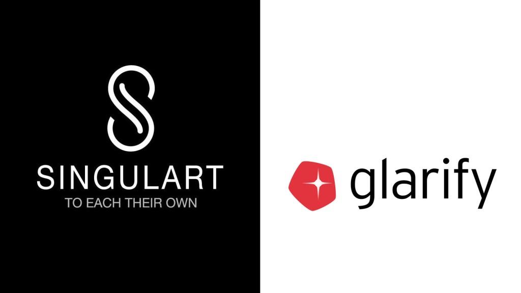 singulart and glarify partner up