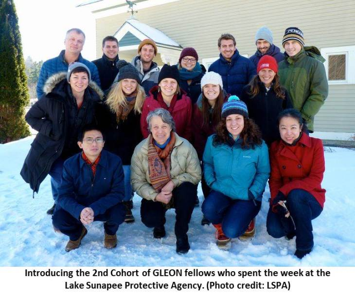 Photo: GLEON fellowship program 2nd Cohort. Credit: LSPA.