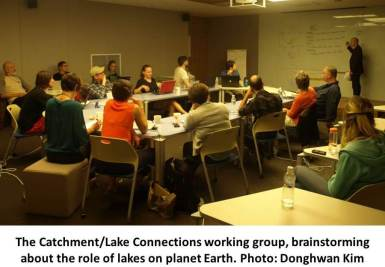 Photo: GLEON catchment-lake connections working group. Credit: Donghwan Kim