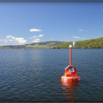 Photo: GLEON buoy in New Zealand. Credit: Chris McBride.