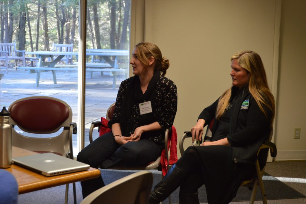 Photo: Professional development talks at NE GLEON.