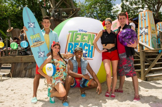 ÒTeen Beach Movie: Beach PartyÓ Shakes Up Summer Fun at Disney's Typhoon Lagoon