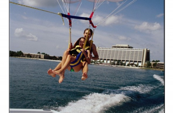 Parasailing: A view of Disney like never before