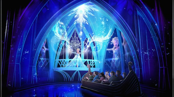 Frozen Ever After Attraction Set