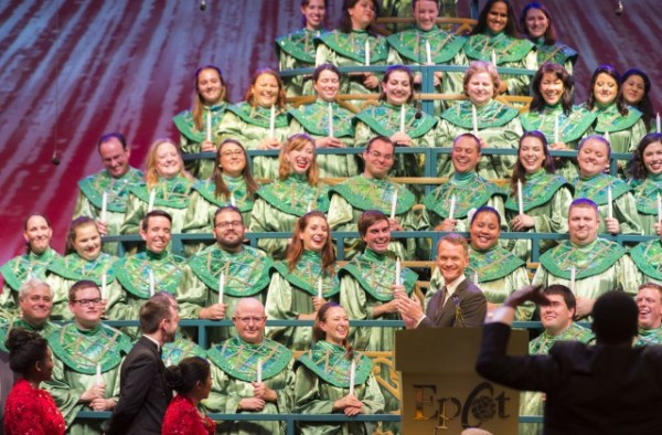 Epcot's Candlelight Processional