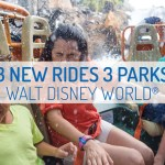 3 New Rides at 3 Different Disney Parks!