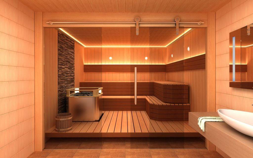 Como escolher a porta da sauna?
