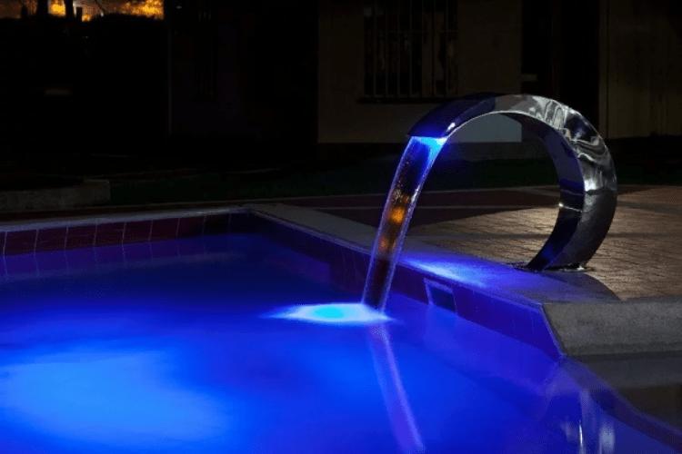 led para cascata de piscina 2
