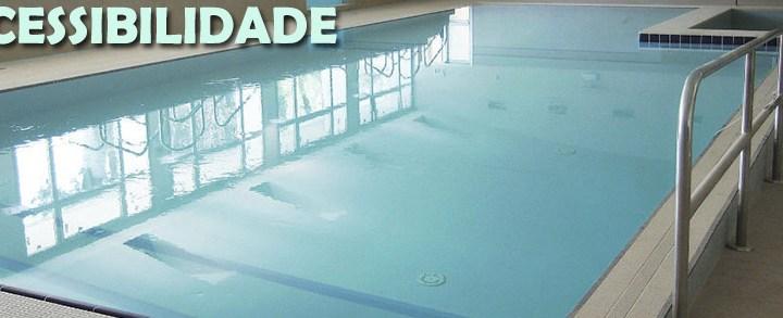 Acessibilidade em piscinas