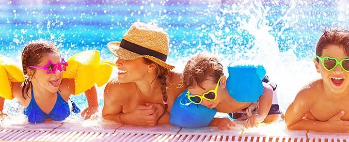 Quais são os tipos de brincadeiras para fazer na piscina?
