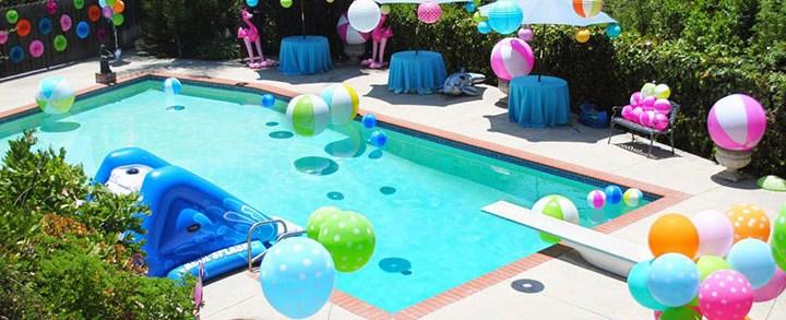 5 dicas de decoração de piscina para festas!