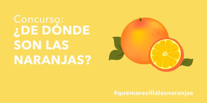 Concurso naranja Glovo