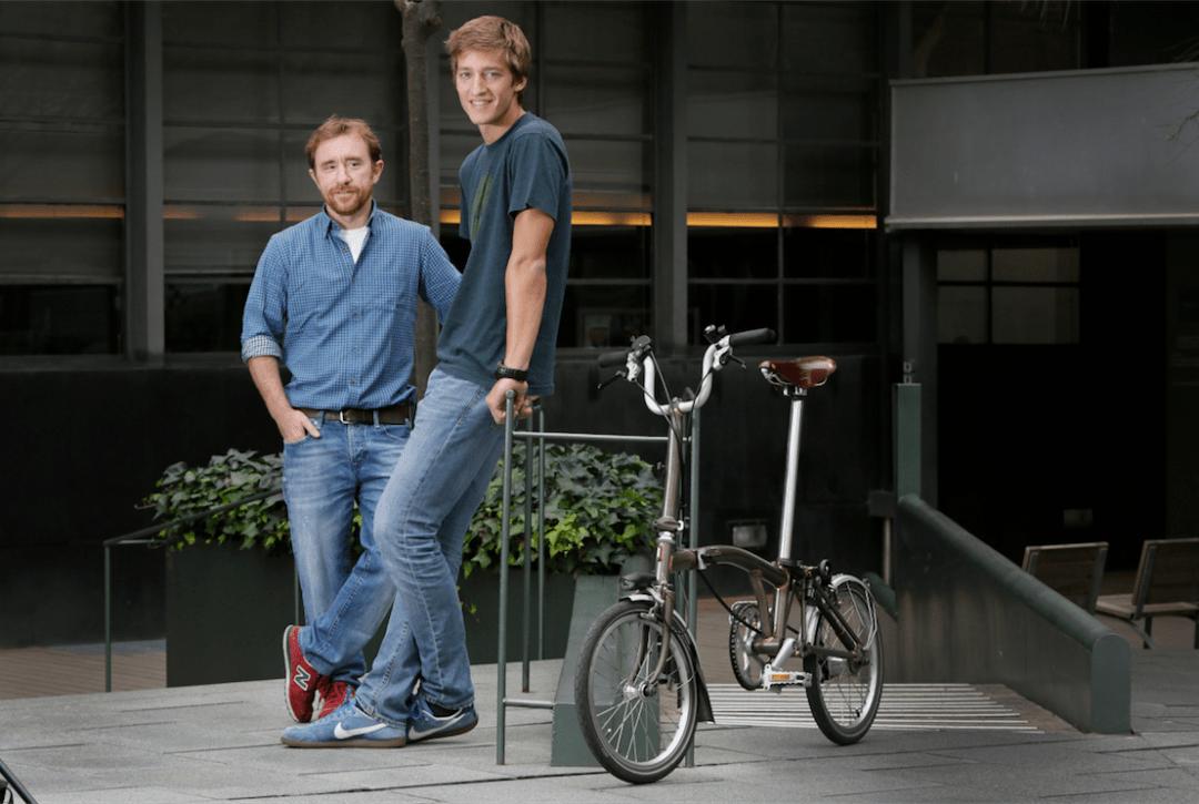 Oscar Pierre y Sacha Michaud, co-fundadores de Glovo