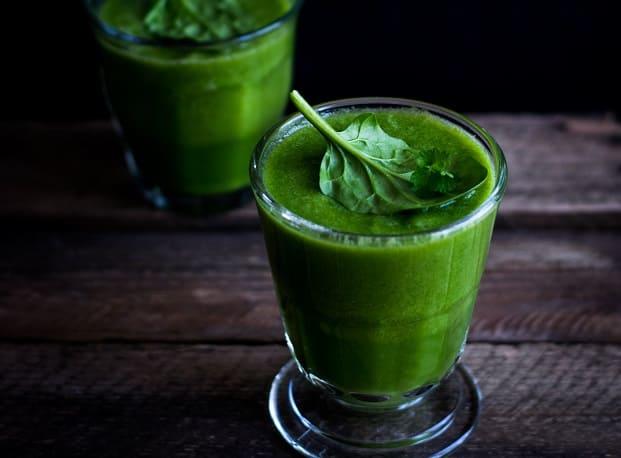 zumos detox espinacas