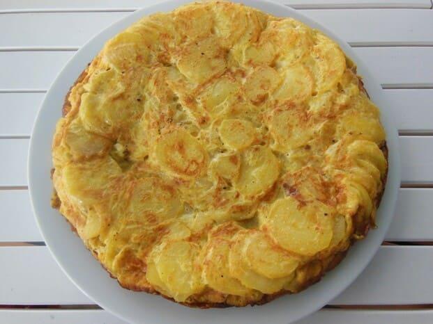 tortilla de patatas a domicilio