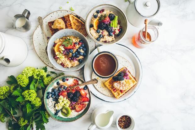 Desayuno a domicilio como regalos para el día de la madre