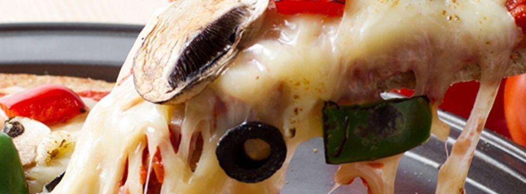 As melhores pizzas…ao domicílio!